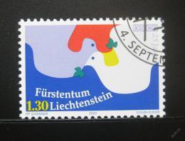 Poštovní známka Lichtenštejnsko 2000 Rada bezpeènosti EU Mi# 1248