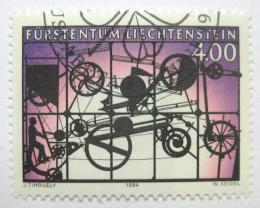 Poštovní známka Lichtenštejnsko 1995 Umìní, Jean Tinguely Mi# 1084