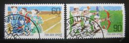 Poštovní známky Nìmecko 1982 Sporty Mi# 1127-28