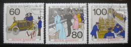 Poštovní známky Nìmecko 1990 Telekomunikace Mi# 1474-76
