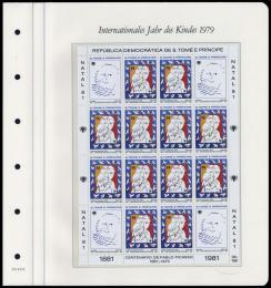 Poštovní známky SvatýTomáš 1981 Umìní, Picasso Mi# 714