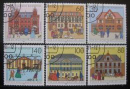 Poštovní známky Nìmecko 1991 Poštovní úøady Mi# 1563-68