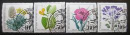 Poštovní známky Nìmecko 1980 Divoké rostliny Mi# 1059-62