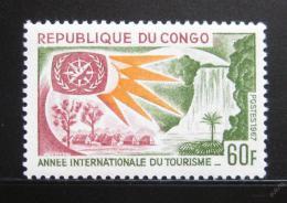 Poštovní známka Kongo 1967 Mezinárodní rok turistiky Mi# 132