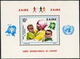 Poštovní známka Kongo Dem., Zair 1979 Mezinárodní rok dìtí Mi# Block 29