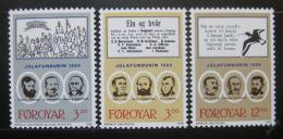 Poštovní známky Faerské ostrovy 1988 Kulturní tradice Mi# 172-74
