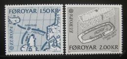 Poštovní známky Faerské ostrovy 1982 Evropa CEPT Mi# 70-71