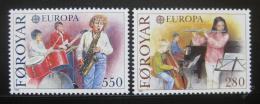 Poštovní známky Faerské ostrovy 1985 Evropa CEPT, hudebníci Mi# 116-17