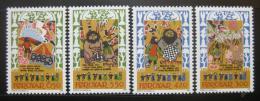 Poštovní známky Faerské ostrovy 1986 Balada Skrimsla Mi# 130-33
