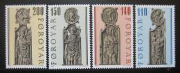 Poštovní známky Faerské ostrovy 1980 štíty starých køesel Mi# 55-58