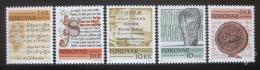 Poštovní známky Faerské ostrovy 1981 Historické nápisy Mi# 65-69