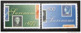 Poštovní známky Surinam 1998 Svìtová výstava Mi# 1661-62 Kat 10.50€