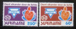 Poštovní známky Surinam 1992 YWCA, 50. výroèí Mi# 1413-14