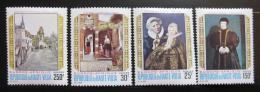Poštovní známky Horní Volta 1970 Umìní Mi# 312-15