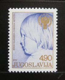 Poštovní známka Jugoslávie 1979 Mezinárodní rok dìtí Mi# 1779