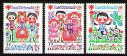 Poštovní známky Maïarsko 1979 Mezinárodní rok dìtí Mi# 3335-37 A Kat 10€
