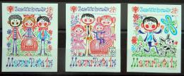 Poštovní známky Maïarsko 1979 Mezinárodní rok dìtí Mi# 3335-37 B Kat 45€