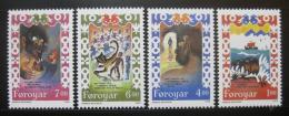 Poštovní známky Faerské ostrovy 1994 Balada Brusajokil