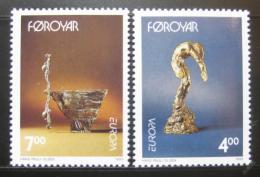 Poštovní známky Faerské ostrovy 1993 Evropa CEPT Mi# 248-49
