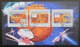 Poštovní známky Guinea 2012 Prùzkum Marsu Mi# 9440-42 Kat 18€ - zvìtšit obrázek