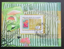 Poštovní známka Guinea 2009 Houby na známkách Mi# Block 1765 - zvìtšit obrázek