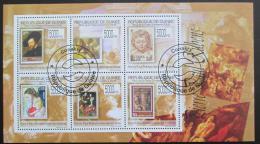 Poštovní známky Guinea 2009 Umìní, Rubens Mi# 7058-63
