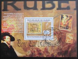 Poštovní známka Guinea 2009 Rubens na známkách Mi# Block 1770