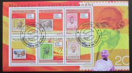 Poštovní známky Guinea 2009 Mahatma Gandhí Mi# 7114-19