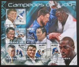 Poštovní známky Mosambik 2012 Judo Mi# 6230-35 Kat 14€