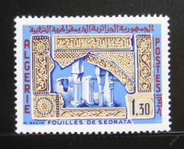 Poštovní známka Alžírsko 1967 Ruiny v Sedrata Mi# 473