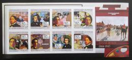 Poštovní známky Guinea 2009 Umìní, Edgar Degas, neperf.