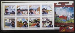 Poštovní známky Guinea 2009 Umìní, Claude Monet, neperf.