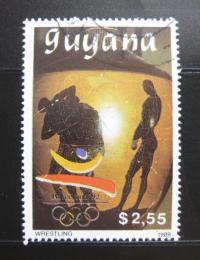 Poštovní známka Guyana 1989 LOH, Zápas Mi# 3069