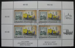 Poštovní známky Rakousko 1998 WIPA výstava Mi# 2270 Kat 45€