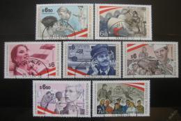 Poštovní známky Rakousko 1994-2001 Pracovní prostøedí komplet