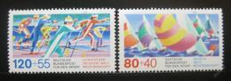 Poštovní známky Nìmecko 1987 Sporty Mi# 1310-11