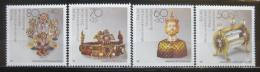 Poštovní známky Nìmecko 1988 Artefakty Mi# 1383-86