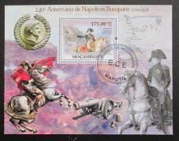 Poštovní známky Mosambik 2009 Napoleon Bonaparte Mi# Block 281