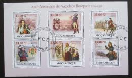 Poštovní známky Mosambik 2009 Napoleon Bonaparte Mi# 3413-18