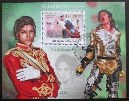 Poštovní známka Mosambik 2009 Michael Jackson Mi# Block 273