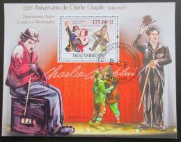 Poštovní známka Mosambik 2009 Charlie Chaplin Mi# Bl 267