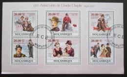 Poštovní známky Mosambik 2009 Charlie Chaplin Mi# 3315-21