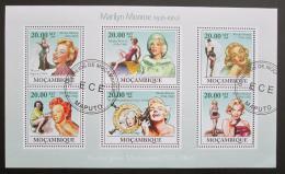 Poštovní známky Mosambik 2009 Marilyn Monroe Mi# 3336-41