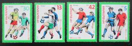 Poštovní známky Bulharsko 1985 MS ve fotbale Mi# 3385-88