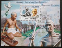 Poštovní známka Mosambik 2010 Mahatma Gandhí Mi# Block 264