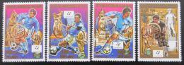 Poštovní známky Madagaskar 1989 MS ve fotbale Mi# 1221-24