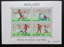 Poštovní známky Malawi 1986 MS ve fotbale Mi# Block 66