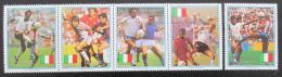 Poštovní známky Paraguay 1989 MS ve fotbale Mi# 4434-38