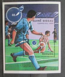 Poštovní známka Guinea-Bissau 1988 ME ve fotbale Mi# Block 272