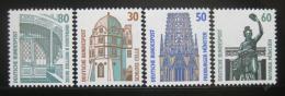 Poštovní známky Nìmecko 1987 Historická místa Mi# 1339-42